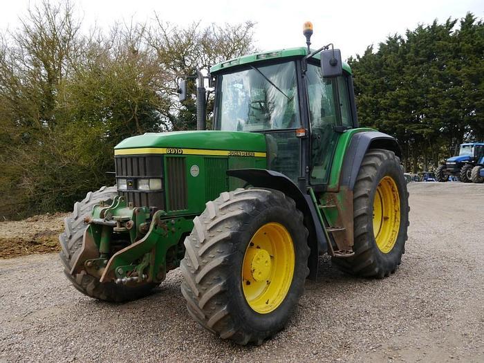 Used 2000 John Deere 6910 4wd Tractor