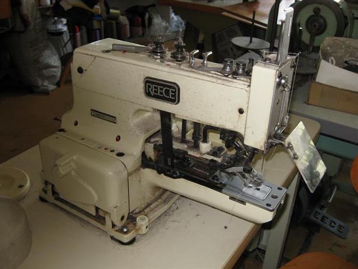 Gebraucht Knopfannähmaschine REECE  CB-25396 R 2-4 Loch, Ösen