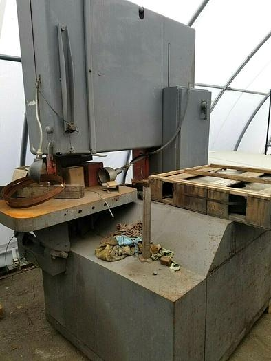 Used Grob 48 inch Band Saw with extra new wheel bandsaw