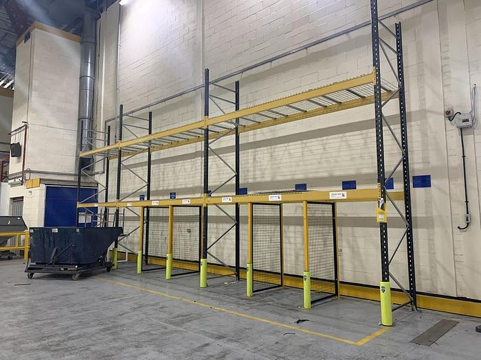 Used SEMA Link 51 Industrial Warehouse Pallet Racking
