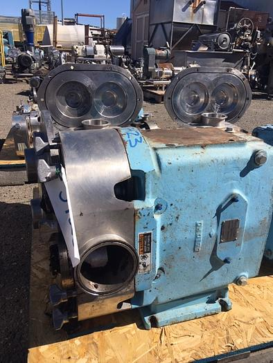Used Waukesha Model 220 Positive Displacement Pump