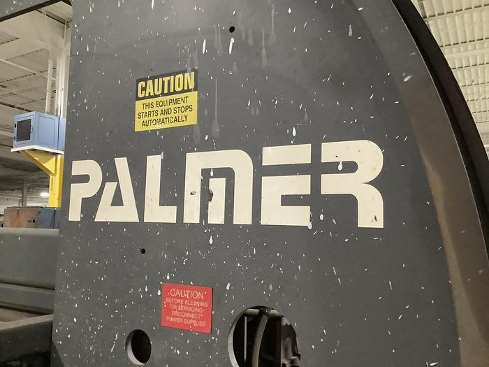 2008 PALMER IN LINE HYDRAULIC MOLD ROLLOVER