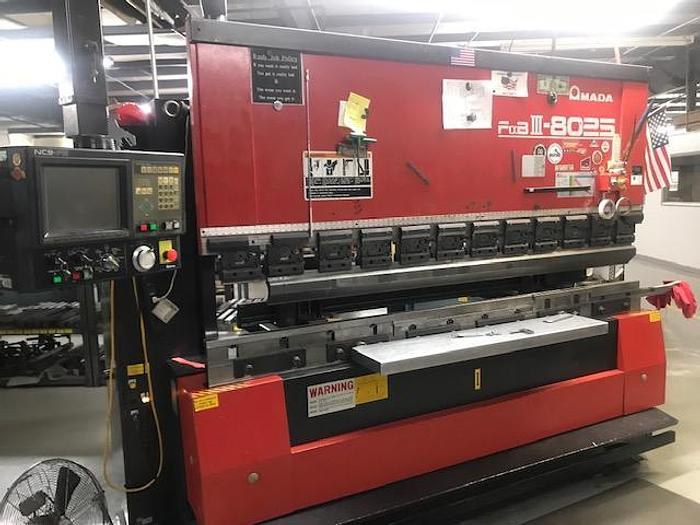 1996 88 Ton Amada FBD-8025 CNC Press Brake