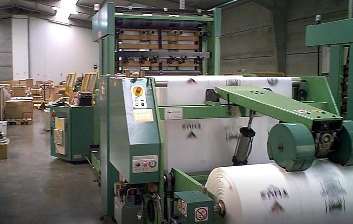 1997 Elba SA-90 - T-shirt film bag welding machine - 3 lanes