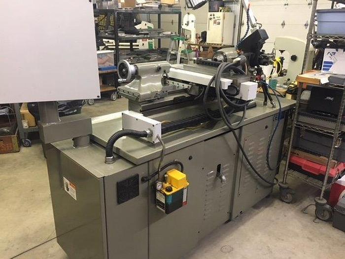 2001 Sharp 1118H-CNC 11x18 CNC Toolroom Lathe W/ Anilam 4200T 118H