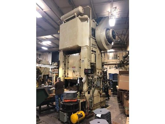 Used 500 ton Verson Straight Side Single-Point Press