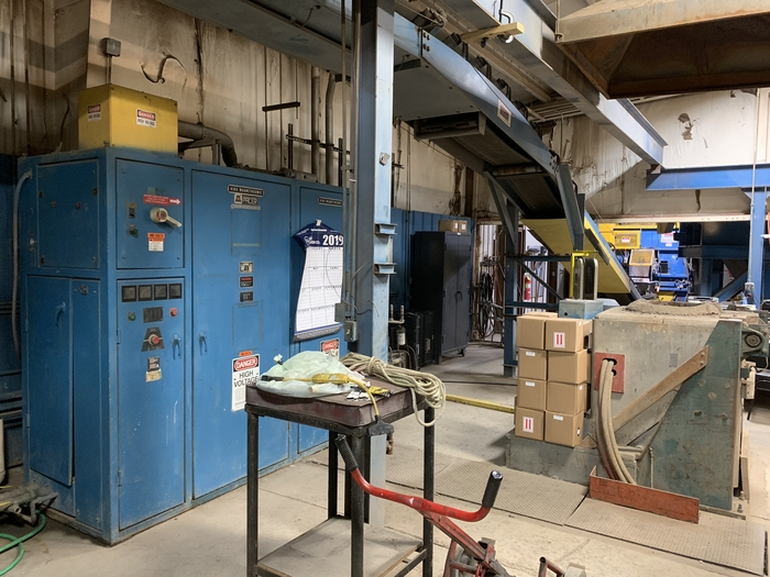 1992 AJAX PACER II 250 Kw INDUCTION FURNACE
