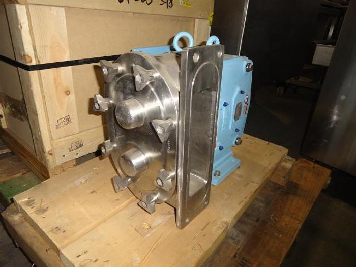 Used Waukesha Rectangular Flange Positive Displacement Pump; Md#134