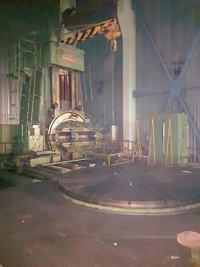 Gear hobbing machine SHIBAURA HHA600B(S)  6000mm dia. YOM 1977