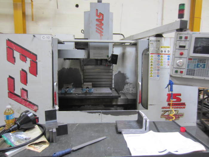 Haas Model VF-3 Vertical Machining Centre 5596