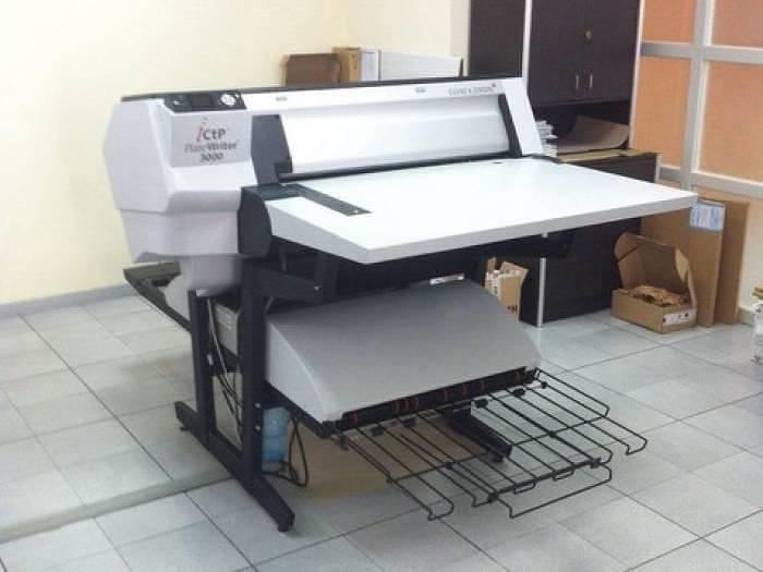 Used Glunz Jensen iCtP Platewriter 3000 (2011)