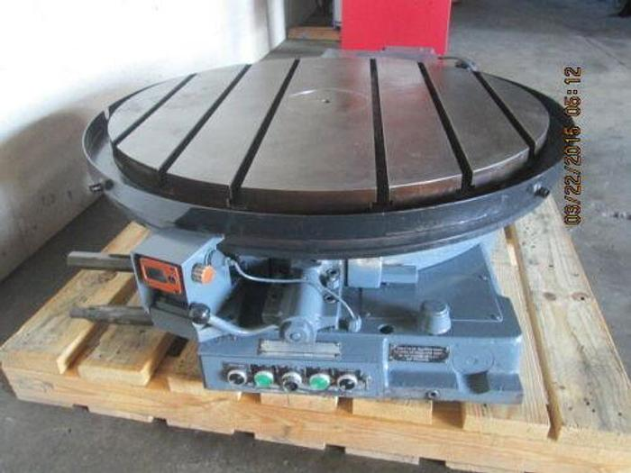 """LUCAS 42"""" PRECISION MOTORIZED ROTARY TABLE WITH CNC CONNECTORS"""