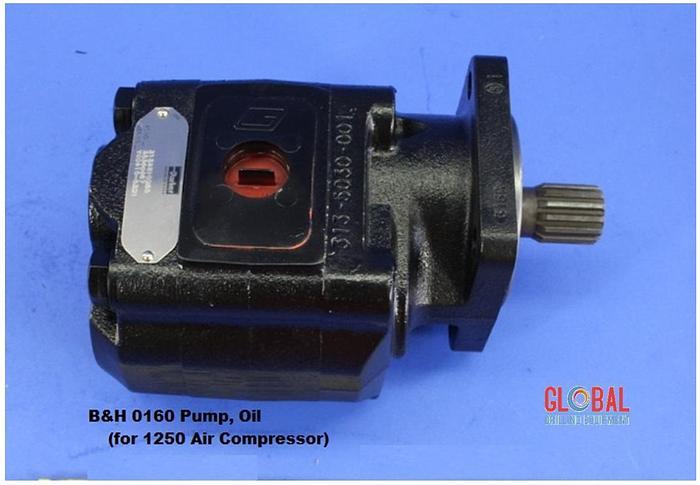 B&H 0160 - PUMP, OIL (FOR 1250 AIR COMPRESSOR)
