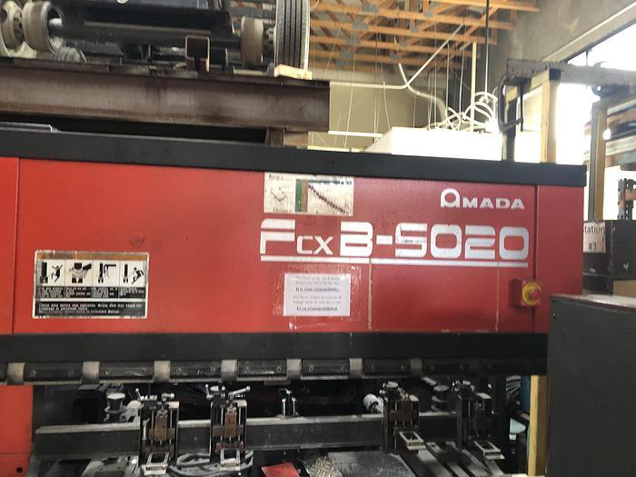 Used 1997 55 Ton Amada FBD-5020 CNC Press Brake
