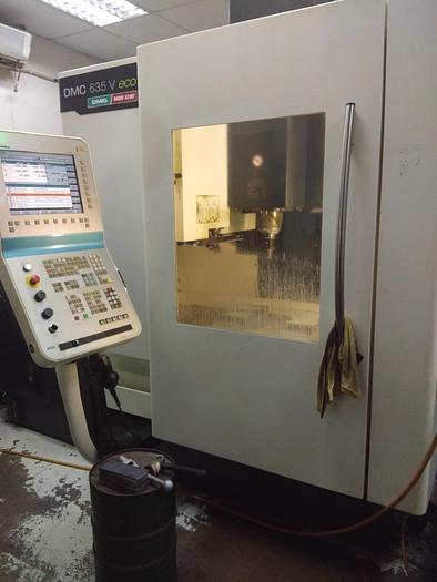 Used 2010 DMG DMC 635V ECO Used cnc machining center