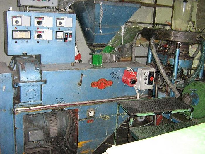 Used Blown film extruder Ravi 1200 mm diehead