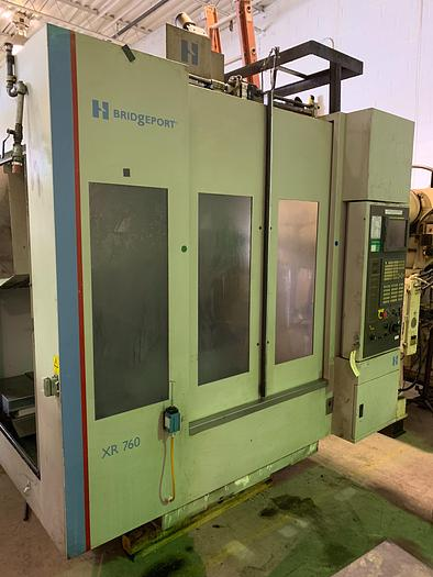 "HARDINGE XR760 VMC PRODUCTION CENTER 30""X24""X24"" W/4TH AXIS TRUNION"