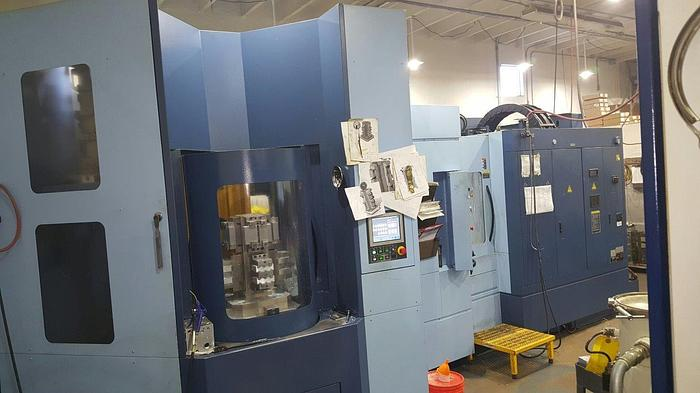 Used 2013 Matsuura H Plus 405 Horizontal Machining Center with 12 Pallets and 240ATC