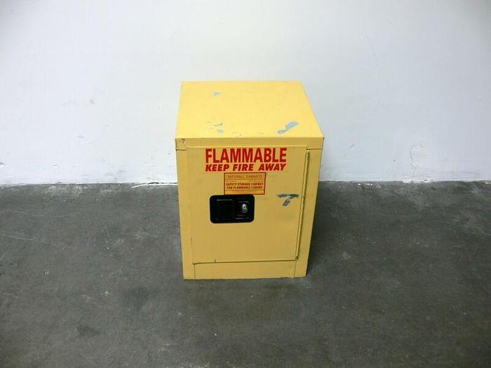 """Used Securall IM20000 21""""x17""""x15"""" Flammable Liquid Safety Storage Cabinet"""
