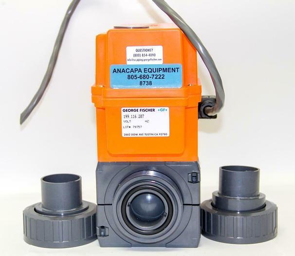 Used George Fischer +GF+ 199.116.207 Code 198.150.433 Type 20 EA Actuator, NW40(8738)