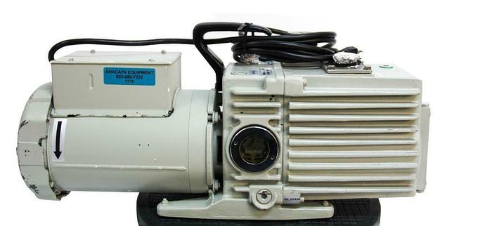 Used Leybold Trivac D16A Dual Stage Rotary Vane Vacuum Pump Working (7778) W