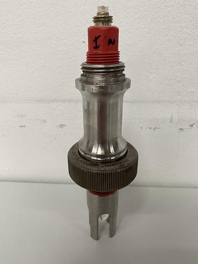 Used Mettler Toledo  Stainless Steel Dissolved Oxygen Glass Sensor Probe