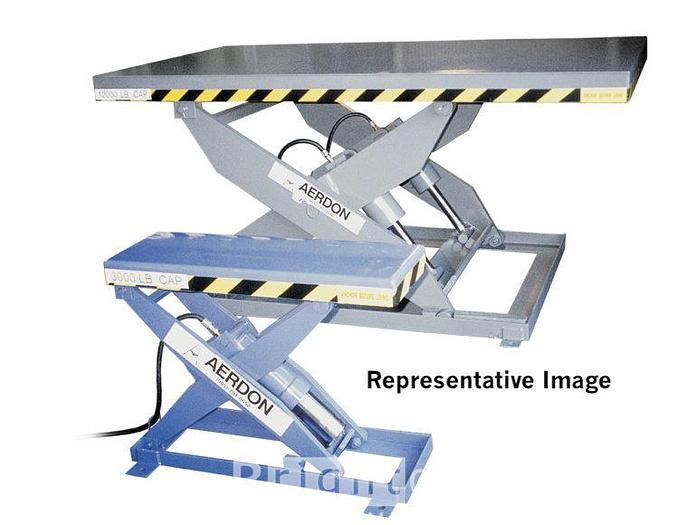 Used Aerdon 2000lb  Used Scissor Lift Table