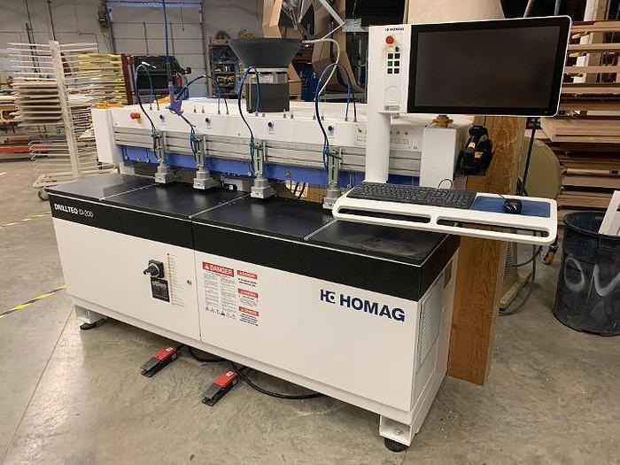 Used Homag DRILLTEQ200