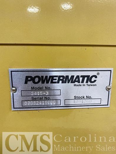 Powermatic Band Saw Model 2415-3