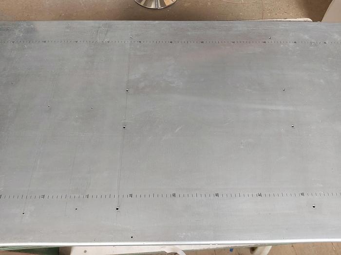 Gebraucht Montagewand für Schaltschrank 80 x 180cm SE 5831.000 Rittal, 699x1696x3mm, St verz, gebraucht