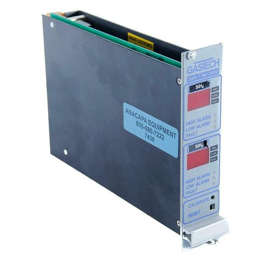 Used GasTech SafeTNet 2000 Dual Channel Controller JPW5632Thermo Scientific  (7438) G