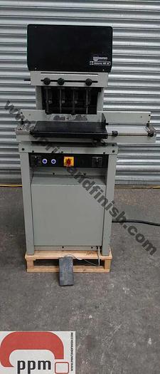 Used Nagel Citoborma 480AB Four Head Paper Drill