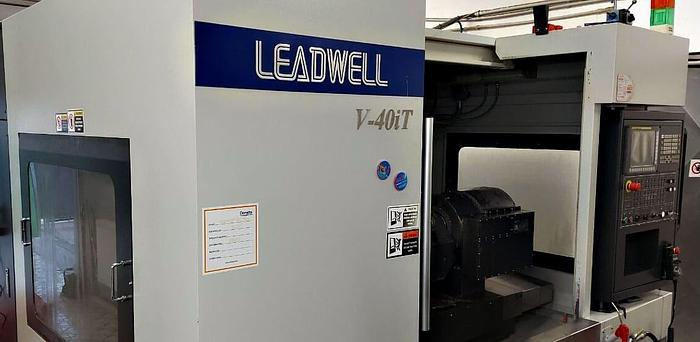 Used Leadwell V 40iT - CNC Vertical machining centers - 2017