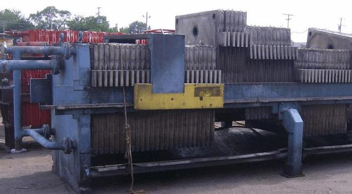 Used 100 CU. FT. PERRIN FILTER PRESS – 1200 MM
