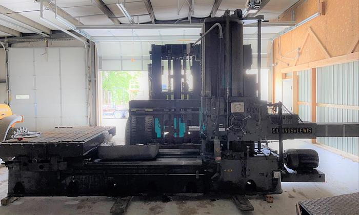 """Used Giddings and Lewis 4"""" Horizontal Boring Bill 340-T"""
