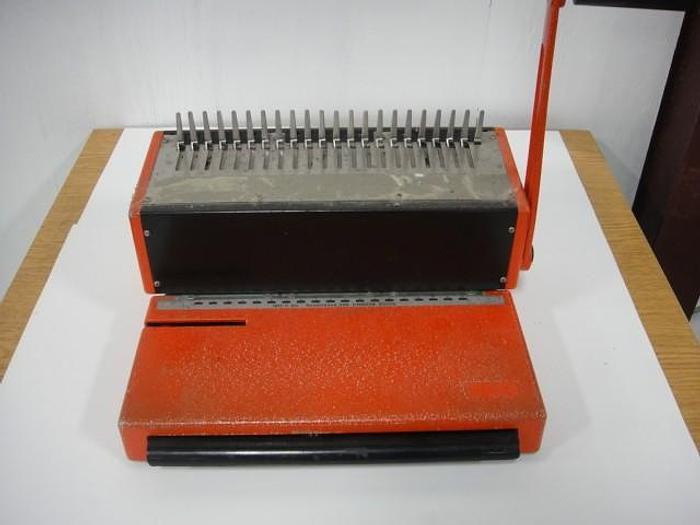 Used Ibico Comb Binding Machine