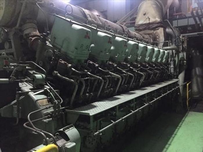 Used 5.6 MW 1999 Used Mitsubishi 18KU30A Diesel Generator