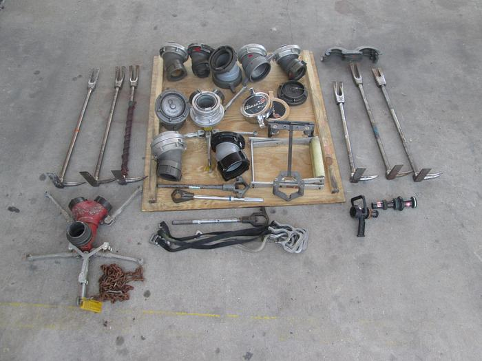 Used Crate of Miscellaneous Fire Fighter Equipment