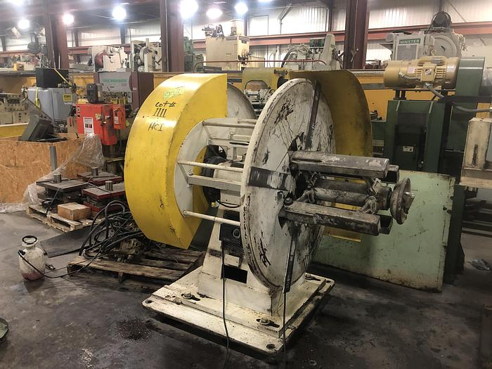 """Used 2,500 LBS X 18"""" LITTELL DOUBLE END UNCOILER"""
