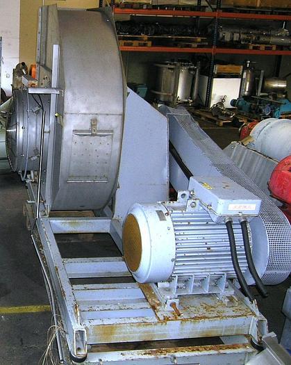 Used NOVENCO ventilator for NIRO milk powder cyclone
