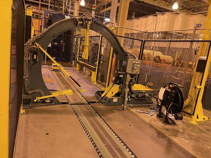 """Used SIGNODE ROLL STRAPPING SYSTEM M20 AUTOMATIC 60"""" MAX DIAMETER MANUFACTURED 2020"""