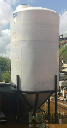 Used TK-12: 1,490 Gallon Cone-Bottom Tank