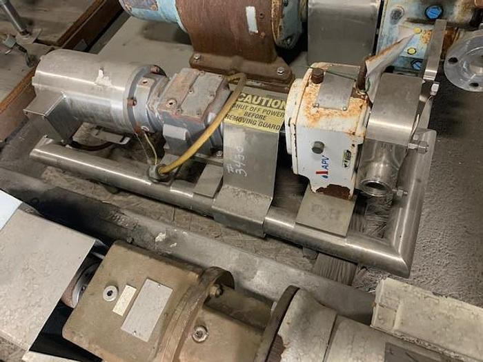 """Used APV 1.5"""" x 1.5"""" Positive Displacement Pump Size 3"""