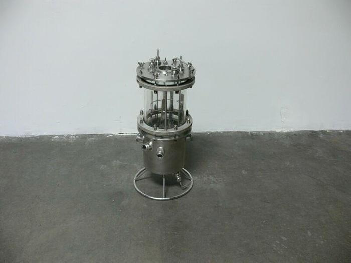Used Buchi AG Borosilicatglas 3.3 MBR Bio Reactor max 2bar-473k 9dm^3