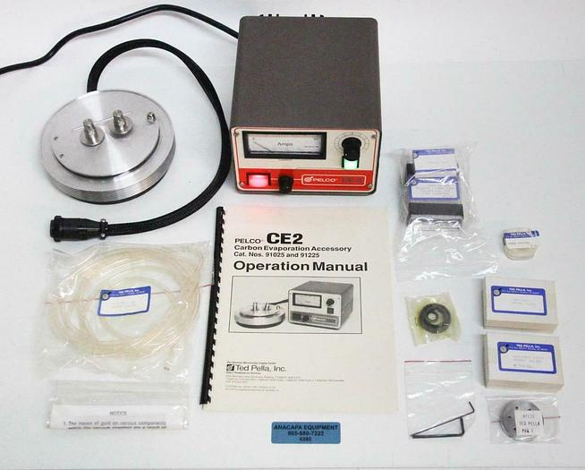 Used Pelco 91225 CE2 Carbon Evaporator Assembly Sputter Coater + Extras PARTS (6580)