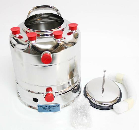 Alloy Products C530-4596-00 Stainless Steel 2 Gallon Pressure Vessel NEW (6132)