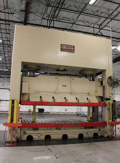 Used 1000 TON PACIFIC STRAIGHT SIDE HYDRAULIC PRESS