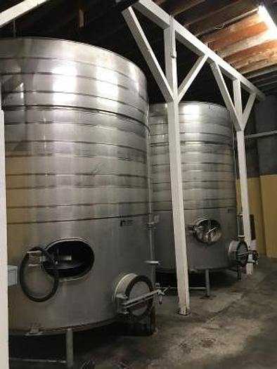 Used 5600 Gal Jacketed storage tanks