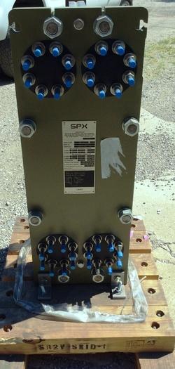 SPX Model SR2 M-27 Plate Heat Exchanger, New Condition