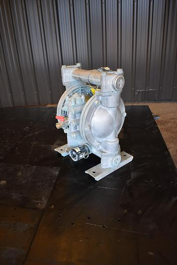 """Used USED YAMADA DIAPHRAGM PUMP, 1"""" X 1"""" INLET & OUTLET, ALUMINUM"""